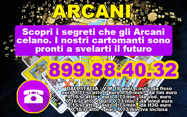 cartomanzia portale  ARCANI